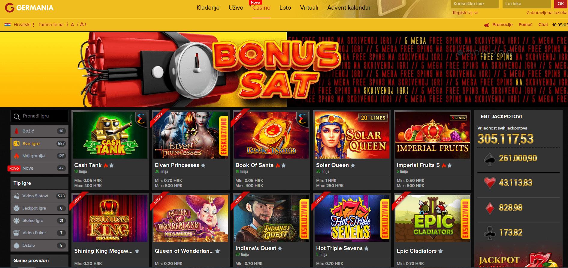 Najbolji Online Casino -Germania Sport Casino