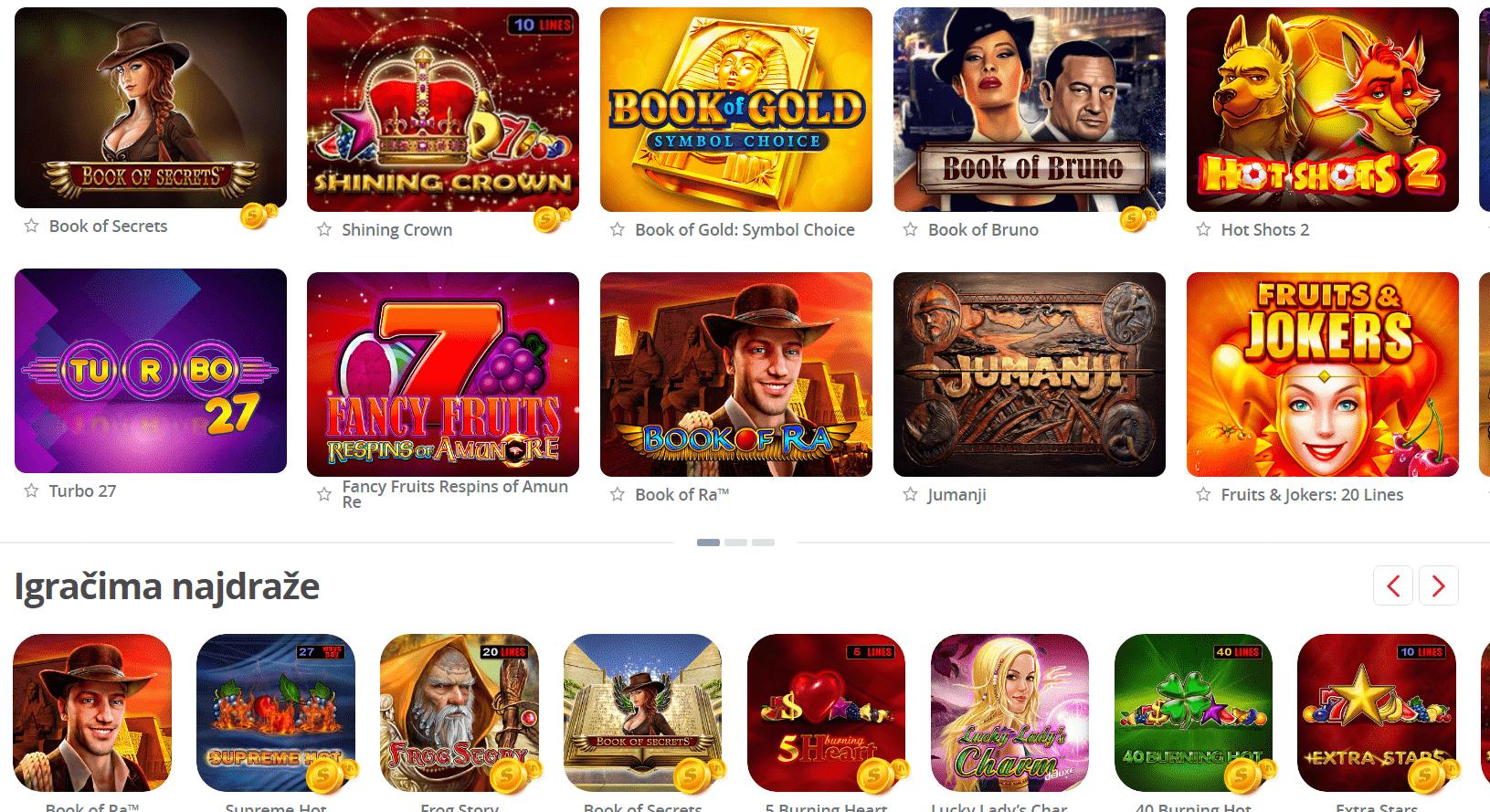 Supersport Casino slotovi