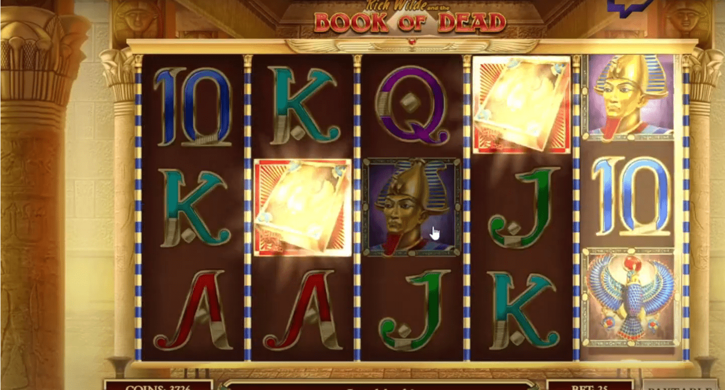 slot igre - book of dead